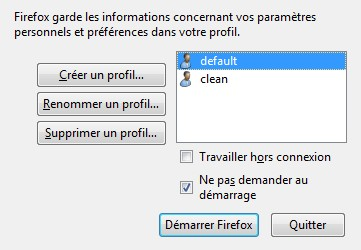 firefox profil manager